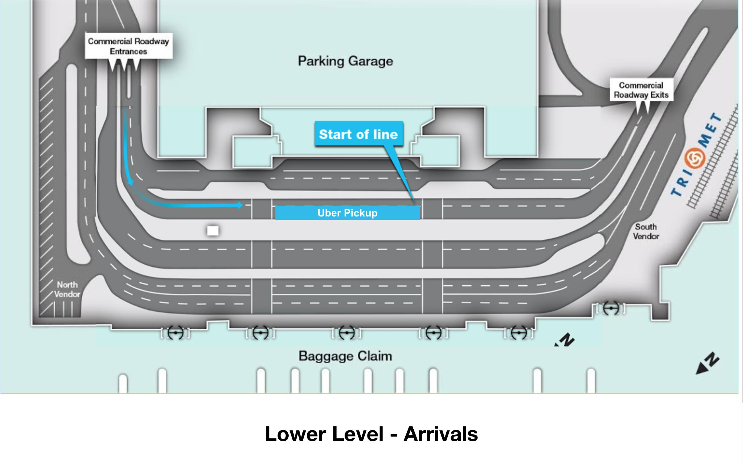 Uber Portland Oregon >> Instructions For Drivers At Portland International Airport Uber
